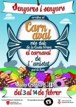 Carnaval de Santa Cristina d'Aro 2018. Font: web de l'ajuntament