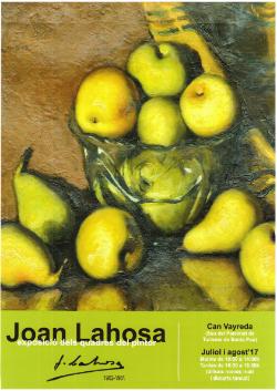 Exposició de Joan Lahosa. Pintura