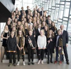 Actuació de Kopsvogur Banda Juvenil d'Islàndia