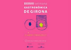 XXXVII Setmana Gastronòmica Gironina 2017. Font: www.gironahostaleria.com