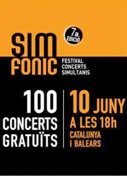 SIMFÒNIC, Festival de concerts simultanis - Comarques de Lleida