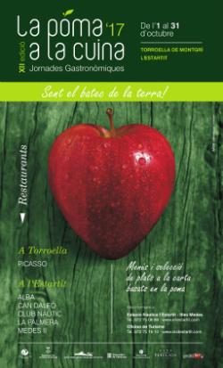 """XII Jornades Gastronòmiques """"La poma a la cuina"""". Font: Ajuntament de Torroella de Montgrí-L'Estartit"""