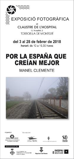 Exposició 'Por la España que creían mejor', de Manel Clemente