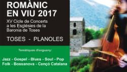 """""""Romànic en Viu"""", XV Cicle de Concerts a les Esglésies de la Baronia de Toses. Font: web de l'Ajuntament de Toses"""