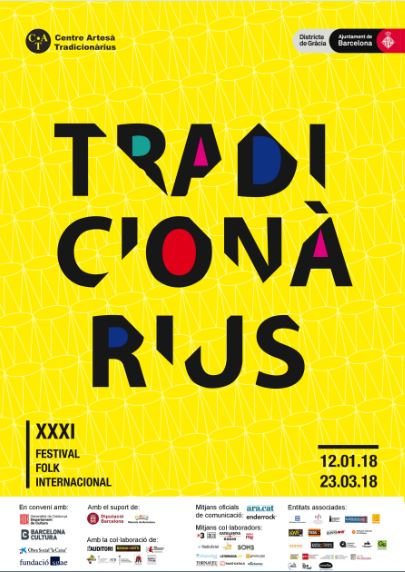 Tradicionàrius 2018, XXXI Festival Folk Internacional