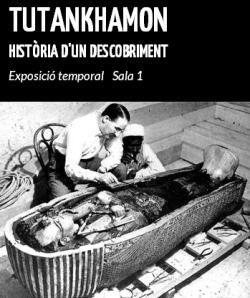 Exposició 'Tutankhamon. Història d'un descobriment'