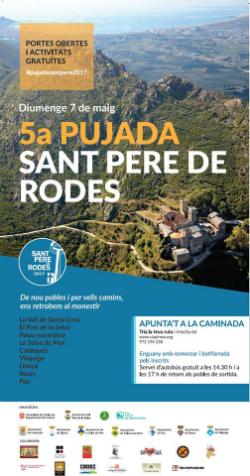 Cinquena pujada a peu al monestir de Sant Pere de Rodes. Font: Via Pirena