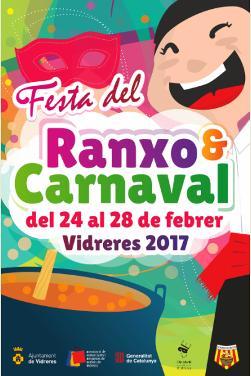 Festa del Ranxo i Carnaval de Vidreres 2017. Font: web de l'ajuntament